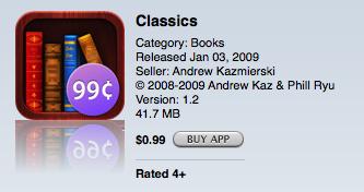 classics screenshot