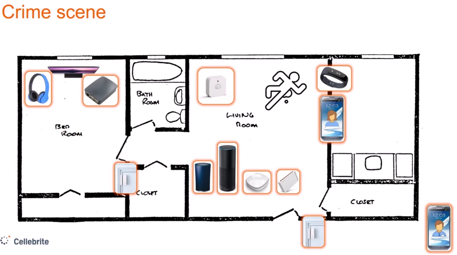 Домашние наблюдатели, IoT и Cellebrite