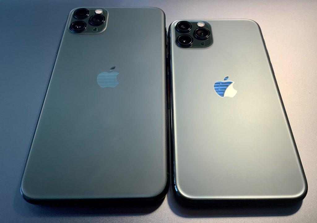 Два размера iPhone 11 Pro